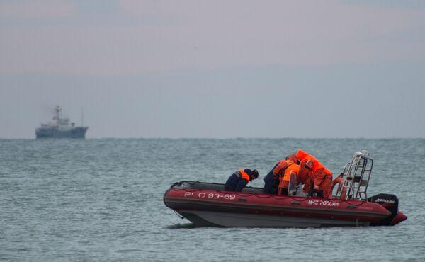 Crash du Tu-154: opération de recherche en cours - Sputnik France
