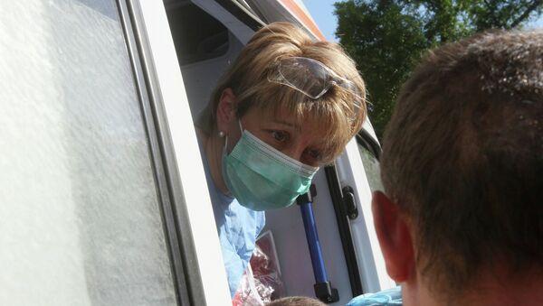 L'aide humanitaire de Docteur Liza est arrivée sur la base de Hmeimim - Sputnik France