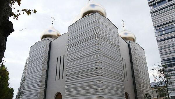 La cathédrale orthodoxe russe de la Sainte-Trinité de Paris - Sputnik France