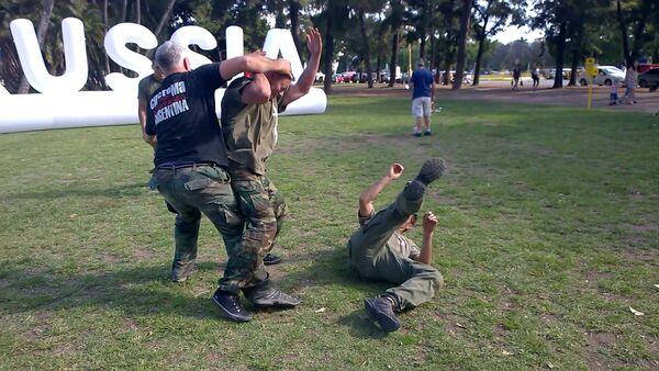 Art martial russe Sistema en Argentine - Sputnik France