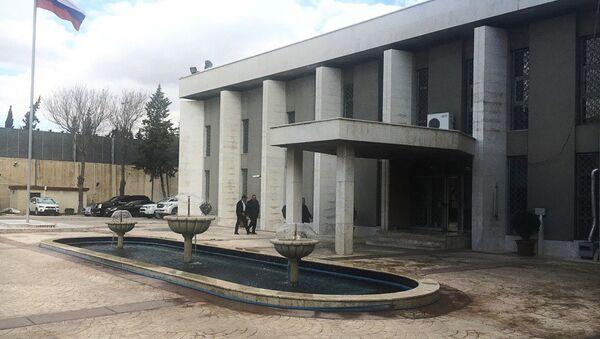 L'ambassade de la Fédération de Russie à Damas - Sputnik France