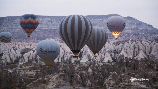 Paysages magnifiques de la Cappadoce - Sputnik France
