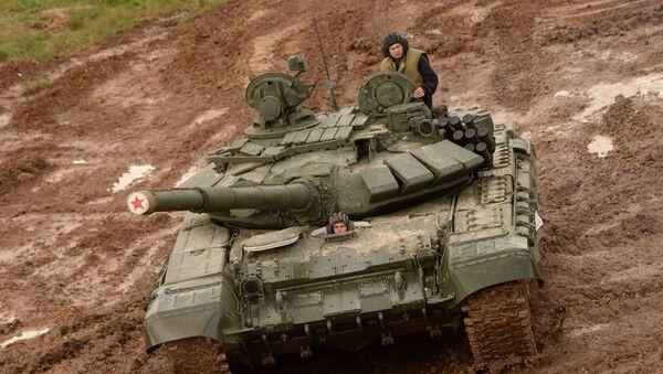 Un T-72, image d'illustration - Sputnik France