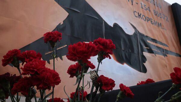 День траура по погибшим в авиакатастрофе в городах России - Sputnik France