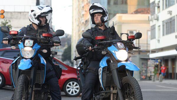 La police à Rio - Sputnik France