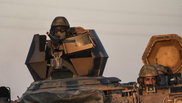 Soldats turcs en Syrie - Sputnik France