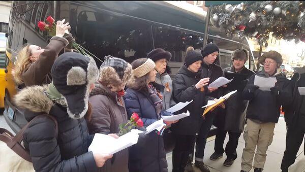 Crash du Tu-154: des Américains chantent en mémoire des victimes - Sputnik France