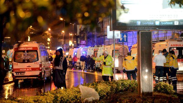 Attentat d'Istanbul - Sputnik France