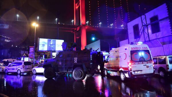 Le terroriste de la boîte de nuit d'Istanbul nomme la cible initiale de l'attaque - Sputnik France