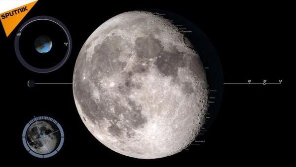 Les phases de la Lune en 2017 - Sputnik France