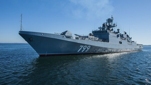 Admiral Makarov patrol ship - Sputnik France