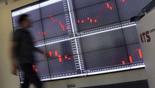 La bourse russe RTS - Sputnik France