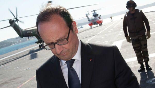 Le bilan de François Hollande, « Chef de guerre » - Sputnik France