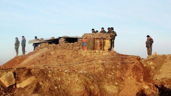 Les peshmerga kurdes lors de la bataille du barrage de Mossoul - Sputnik France