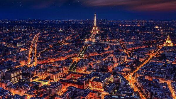 Paris la nuit, image d'illustration - Sputnik France