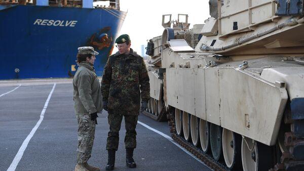 Les chars US en Europe font peur aux Allemands - Sputnik France