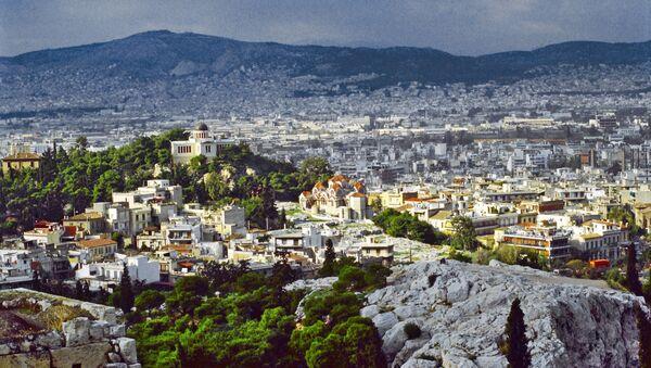 Вид на город Афины - Sputnik France