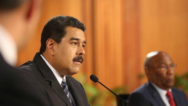 Président vénézuélien: «Trump ne sera pas pire qu'Obama» - Sputnik France