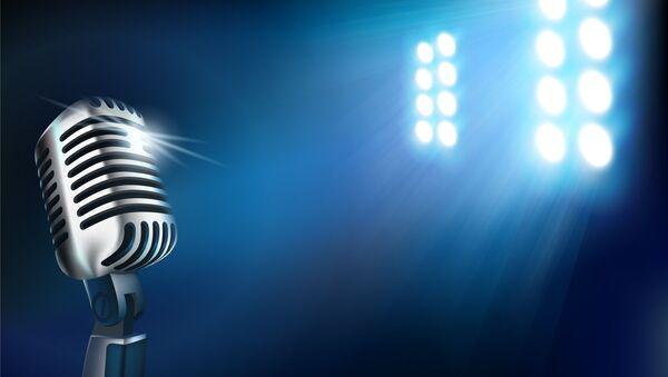 Microphone on stage - Sputnik France