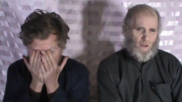 Un Américain et un Australien captifs des Talibans adressent un message à Trump - Sputnik France