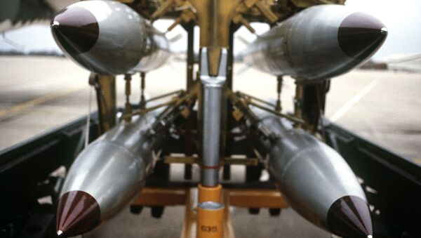 B61s on a bomb rack - Sputnik France