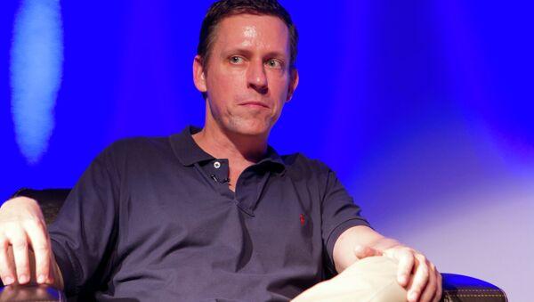 Peter Thiel - Sputnik France