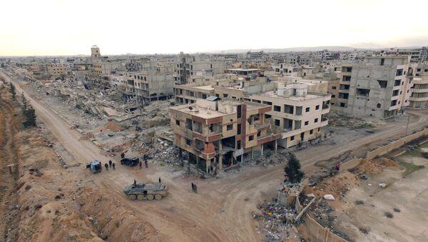 Deraya, quartier de la banlieue sud-ouest de Damas - Sputnik France