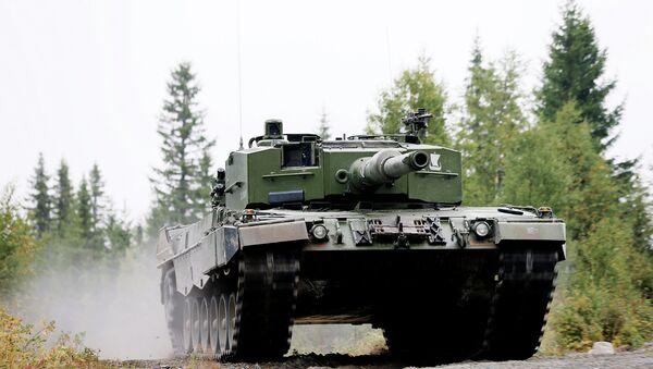 Leopard 2 A4 - Sputnik France