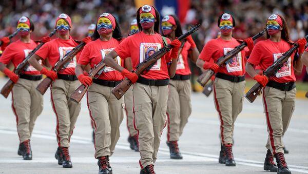 Forces armées vénézuéliennes - Sputnik France