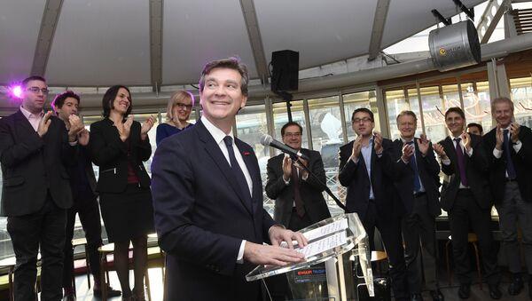 Arnaud Montebourg, ancien ministre de l'Économie de 2012 à 2014 - Sputnik France