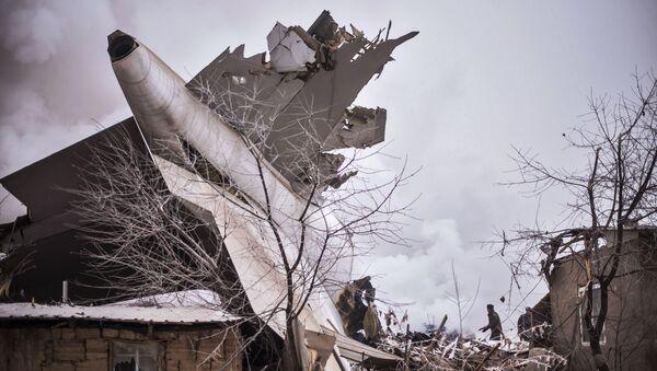 Opération de sauvetage suite au crash d'un avion-cargo au Kirghizstan - Sputnik France