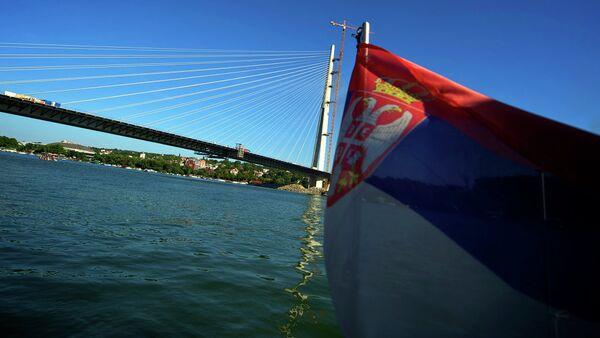 Нови мост на Сави у Београду - Sputnik France