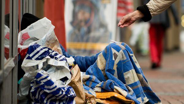 Obdachloser in Dortmund - Sputnik France