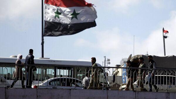 Le drapeau syrien - Sputnik France