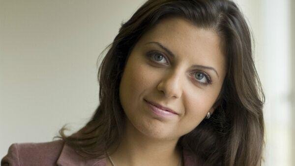 La rédactrice en chef de RT et de Rossiya Segodnya Margarita Simonian - Sputnik France