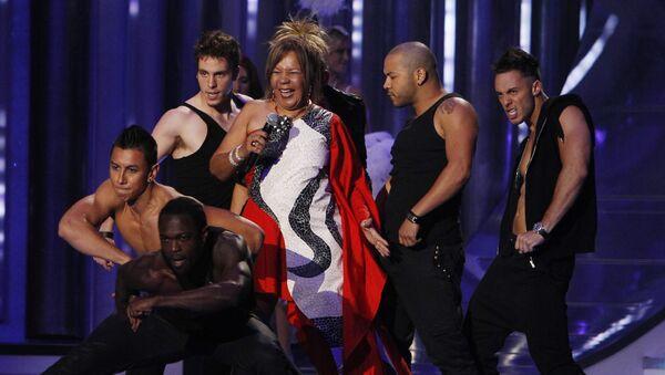 Loalwa Braz performs during the Latin Billboard Awards - Sputnik France