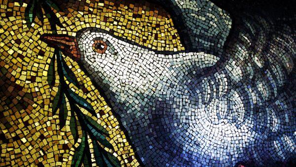 Mosaik in UNO-Hauptquartier - Sputnik France