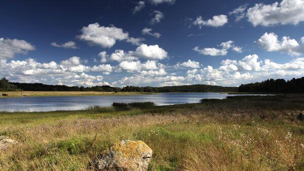 Le fleuve Vuoksi, à la frontière entre la Russie et la Finlande - Sputnik France