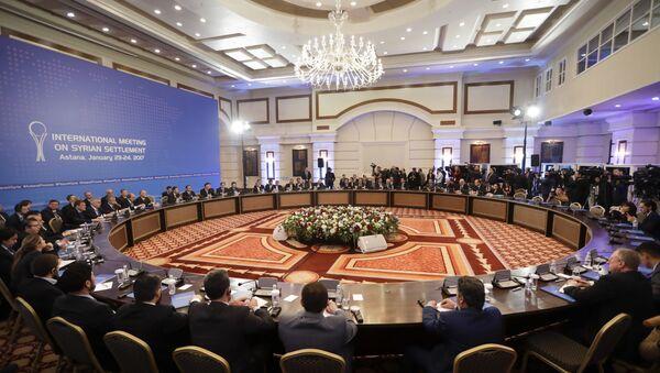 Négociations sur la Syrie à Astana - Sputnik France