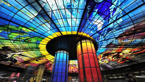 Le Top 10 des plus belles stations de métro à travers le monde - Sputnik France