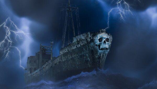 Un mystérieux «bateau-fantôme» - Sputnik France