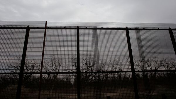 A view of a section of the U.S.-Mexico border fence in El Paso, U.S., January 17, 2017. Picture taken January 17, 2017 - Sputnik France