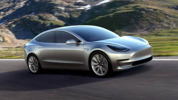 Автомобиль Tesla Motors Model 3 - Sputnik France