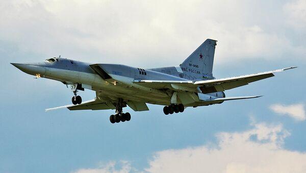 Un bombardier Tu-22M3 - Sputnik France