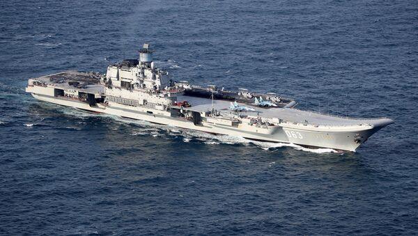 Британские ВМС и ВВС сопровождают российские корабли Адмирал Кузнецов и Петр Великий - Sputnik France