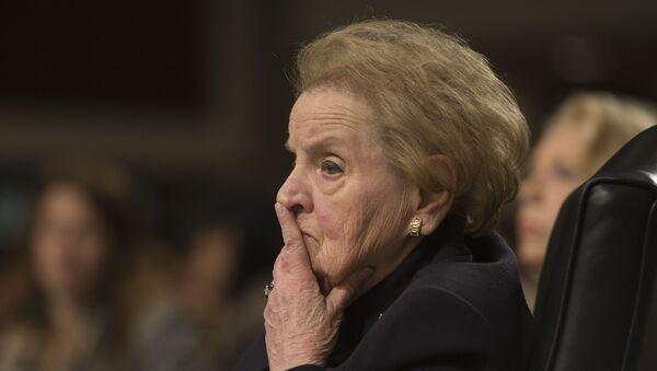 Madeleine Albright - Sputnik France