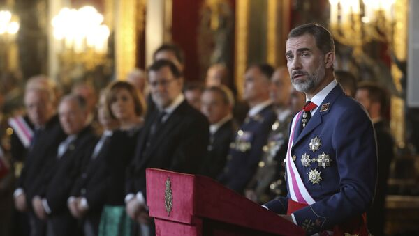 Le roi d'Espagne Philippe VI - Sputnik France