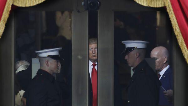 Donald Trump durante la ceremonia de investidura - Sputnik France