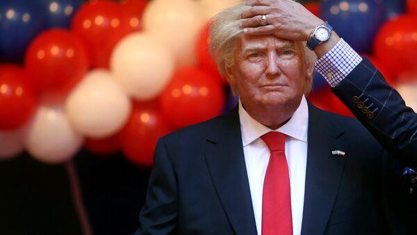 Figura de Donald Trump en el Museo de Cera de Madrid - Sputnik France