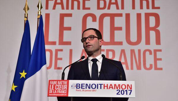 Benoît Hamon remporte la primaire de la gauche - Sputnik France
